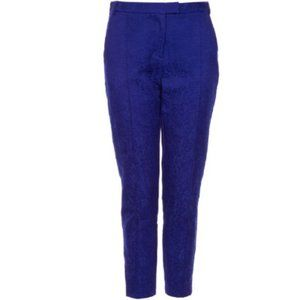 Topshop Floral jacquard skinny cigarette trousers